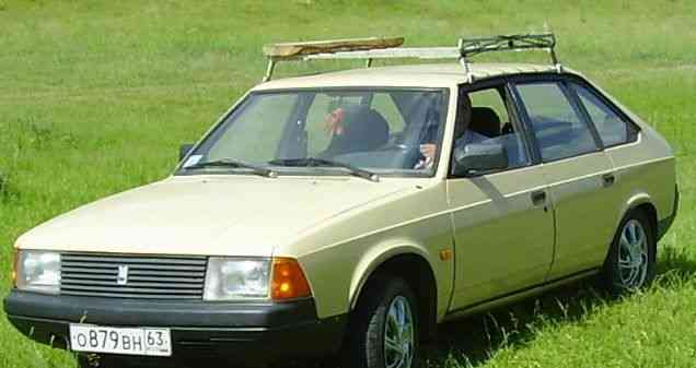 Moskvich 2141, 1990
